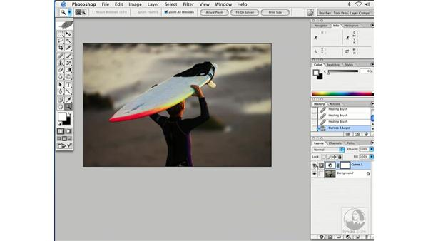 enhancing color 1: Enhancing Digital Photography with Photoshop CS