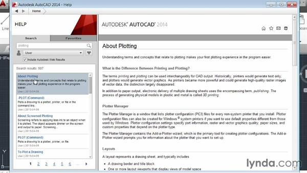 Welcome: AutoCAD 2014 Essentials: 01 Interface and Drawing Management