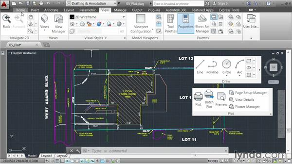 Saving a workspace: AutoCAD 2014 Essentials: 01 Interface and Drawing Management