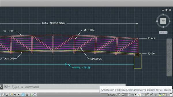 Monitoring the status bar: AutoCAD 2014 Essentials: 01 Interface and Drawing Management
