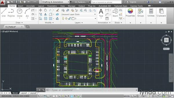 Zooming, panning, and regenning: AutoCAD 2014 Essentials: 01 Interface and Drawing Management