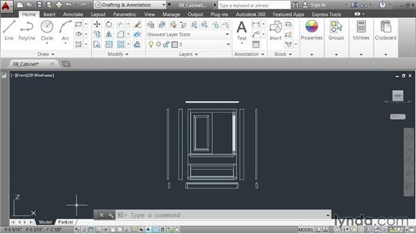 Plotting a layout: AutoCAD 2014 Essentials: 01 Interface and Drawing Management