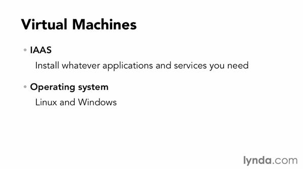 Overview of virtual machines: Up and Running with Azure