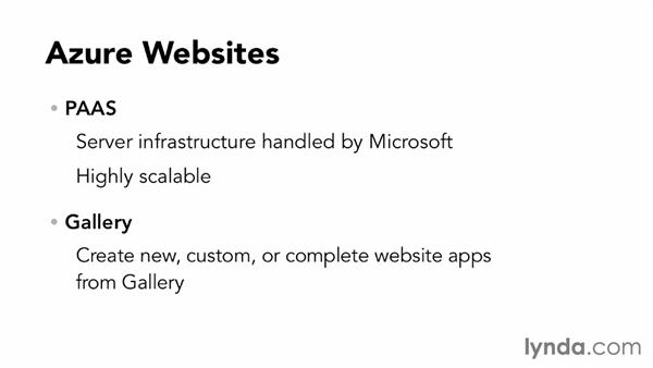 Overview of Azure Web Sites: Up and Running with Azure