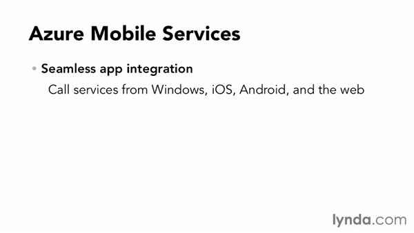 Overview of Azure Mobile Services: Up and Running with Azure