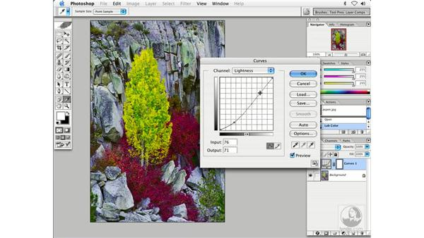 saturation with lab 2: Enhancing Digital Photography with Photoshop CS