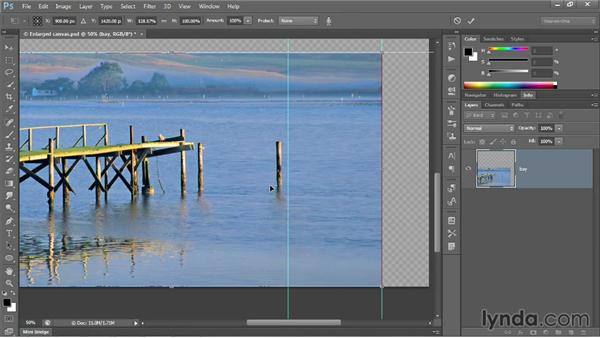 Scaling in multiple passes: Photoshop CC 2013 One-on-One: Intermediate