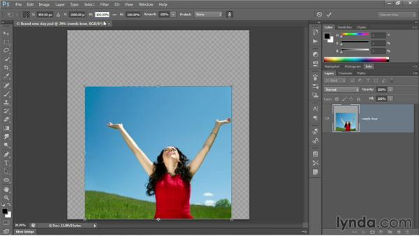 Protecting skin tones: Photoshop CC 2013 One-on-One: Intermediate