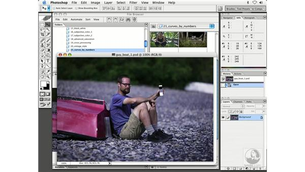 curves and a QP card: Enhancing Digital Photography with Photoshop CS