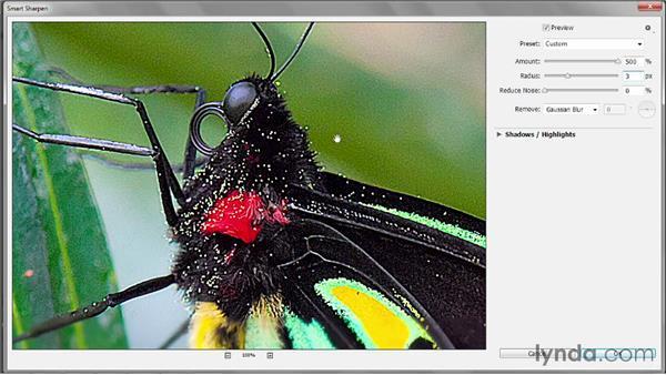 Understanding the Radius value: Photoshop CC 2013 One-on-One: Intermediate