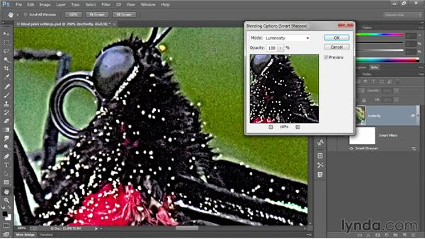 Addressing color artifacts and clipping: Photoshop CC 2013 One-on-One: Intermediate