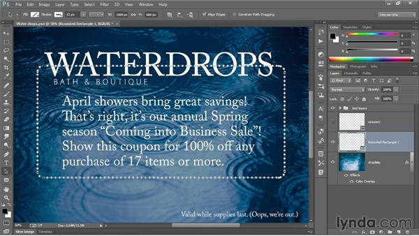 The other vector-based layer: Photoshop CC 2013 One-on-One: Intermediate