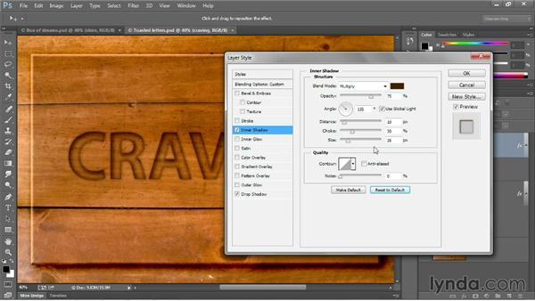Saving custom default settings: Photoshop CC 2013 One-on-One: Intermediate