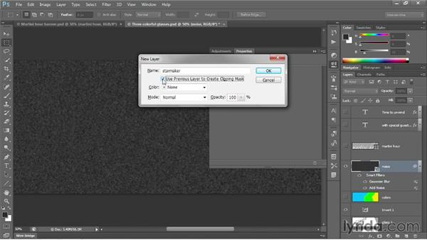 Creating a synthetic star field: Photoshop CC 2013 One-on-One: Intermediate