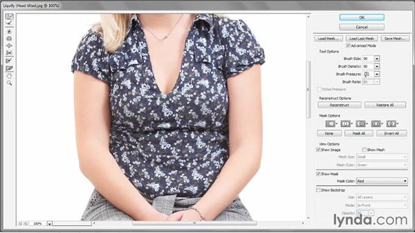Lifting and slimming details: Photoshop CC 2013 One-on-One: Intermediate
