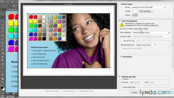 Getting reliable color: Photoshop CC 2013 One-on-One: Intermediate