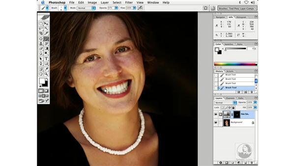 people - teeth, hair: Enhancing Digital Photography with Photoshop CS