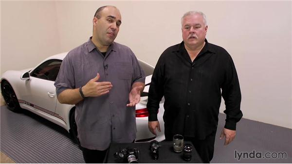 Getting used to an electronic viewfinder: Up and Running with Micro Four-Thirds Cameras