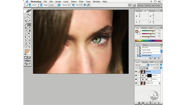 people - improving eyes: Enhancing Digital Photography with Photoshop CS