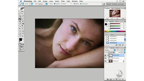 people - softening skin 1: Enhancing Digital Photography with Photoshop CS