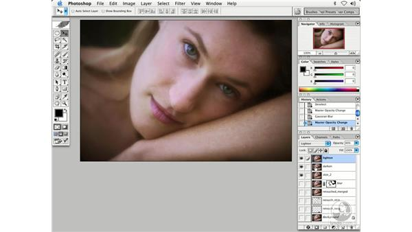 people - softening skin 2: Enhancing Digital Photography with Photoshop CS