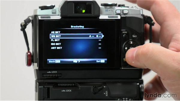 Micro four-thirds camera menus to adjust for Olympus shooters: Up and Running with Micro Four-Thirds Cameras