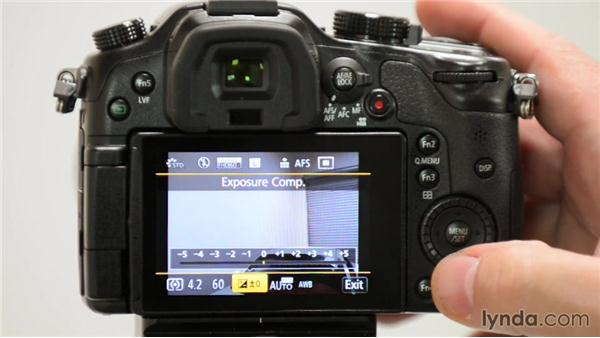 Micro four-thirds camera menus to adjust for Panasonic shooters: Up and Running with Micro Four-Thirds Cameras