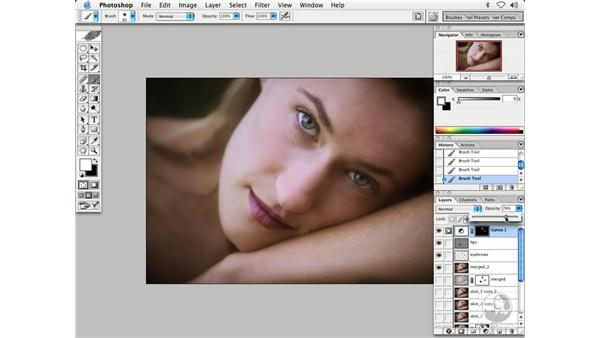 people - eyes, lips: Enhancing Digital Photography with Photoshop CS