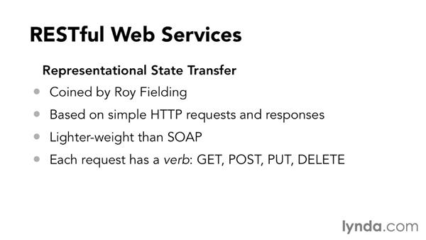 Web service standards: SOAP, REST, OData, and more: Foundations of Programming: Web Services