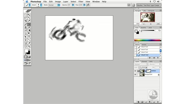 motion mountain bike: Enhancing Digital Photography with Photoshop CS