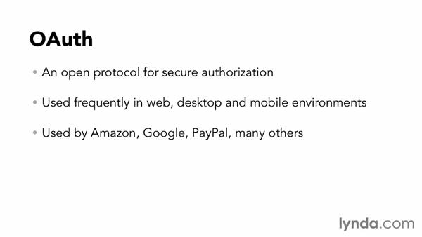 Using other web security standards: Foundations of Programming: Web Services