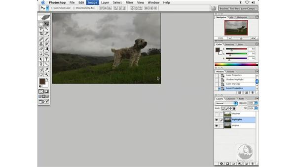 shadow highlights 1: Enhancing Digital Photography with Photoshop CS