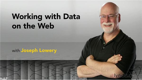 Next steps: Working with Data on the Web