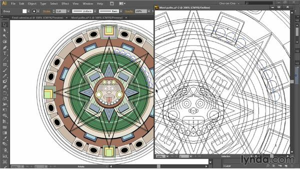 Multiple views and power duplication: Illustrator CC 2013 One-on-One: Intermediate