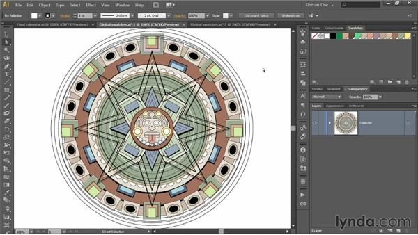Deleting, adding, and managing swatches: Illustrator CC 2013 One-on-One: Intermediate