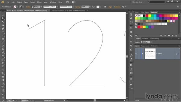 Introducing the Stroke panel: Illustrator CC 2013 One-on-One: Intermediate