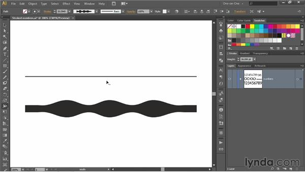 Adjusting the width of closed path outlines: Illustrator CC 2013 One-on-One: Intermediate