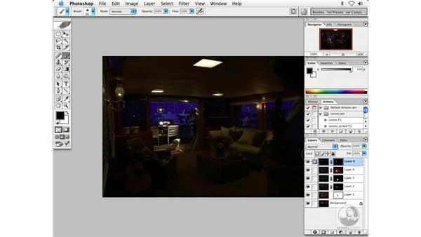 multiple exposures 3: Enhancing Digital Photography with Photoshop CS