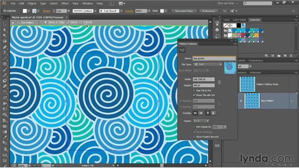 Using the Pattern Generator: Illustrator CC 2013 One-on-One: Intermediate