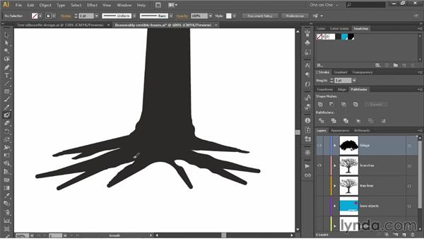 Contouring with the Blob Brush and Eraser: Illustrator CC 2013 One-on-One: Intermediate