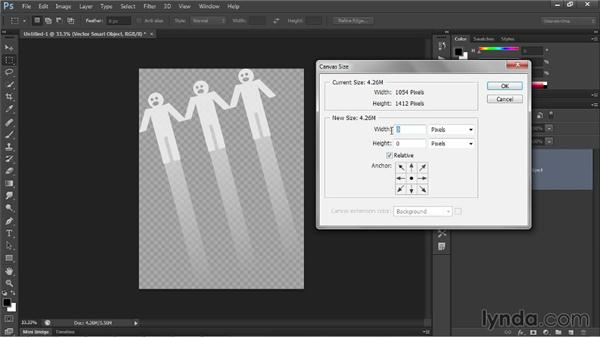 Placing a Photoshop image with transparency: Illustrator CC 2013 One-on-One: Intermediate