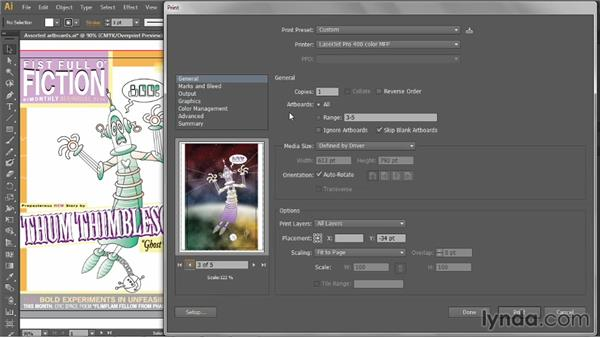 Placement, scale, and tiling: Illustrator CC 2013 One-on-One: Intermediate