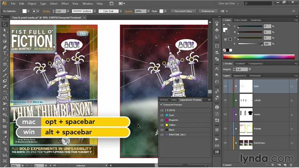 PostScript and color separations: Illustrator CC 2013 One-on-One: Intermediate
