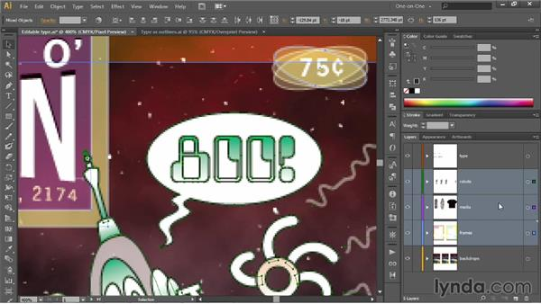 Aligning your artwork to the pixel grid: Illustrator CC 2013 One-on-One: Intermediate