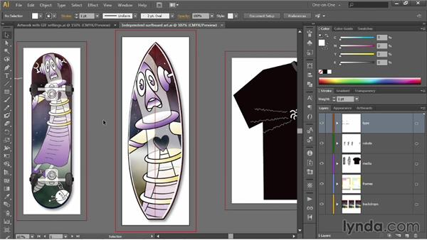 The more flexible PNG format: Illustrator CC 2013 One-on-One: Intermediate