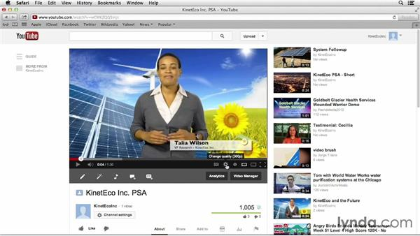 Creating marketing videos: YouTube Projects for Business and Marketing