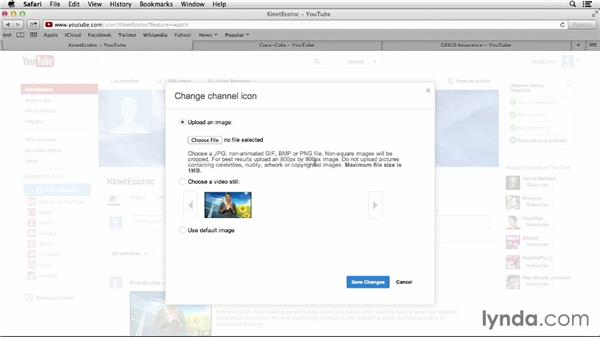 Adding a logo image: YouTube Projects for Business and Marketing