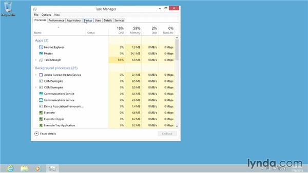 Managing startup items from Task Manager: Windows 8 Tips and Tricks