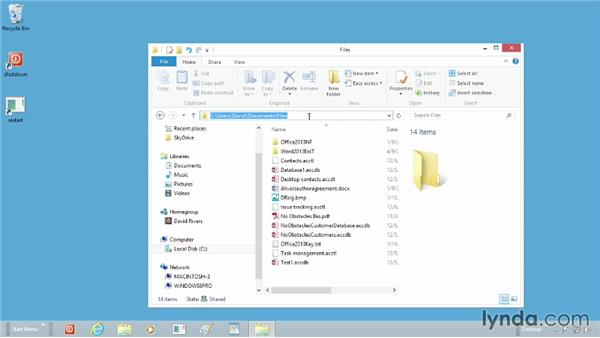 Customizing the File Explorer's target folder: Windows 8 Tips and Tricks