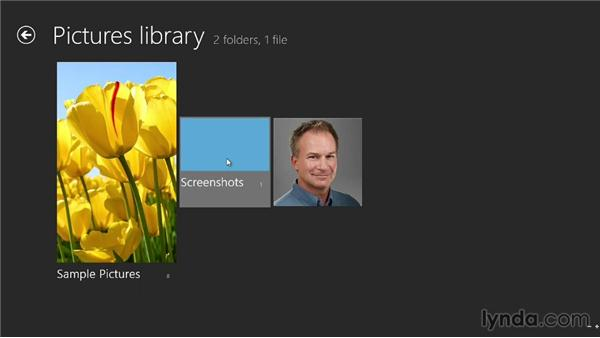Capturing screens to your Pictures folder: Windows 8 Tips and Tricks